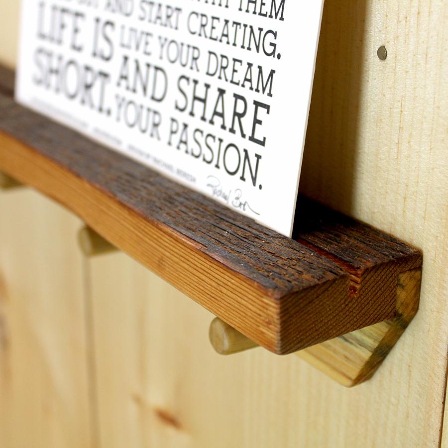 Reclaimed Wood Hangrail