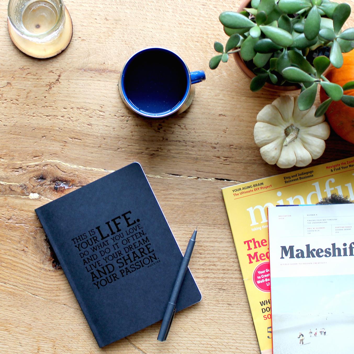 Holstee Manifesto Journal